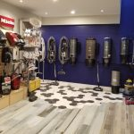 Superior Home System vacuum show room