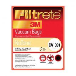 68703- NuTone Central Vacuum Bags 3/pk CV-391