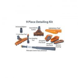 9 piece Premium Detailing Kit Named