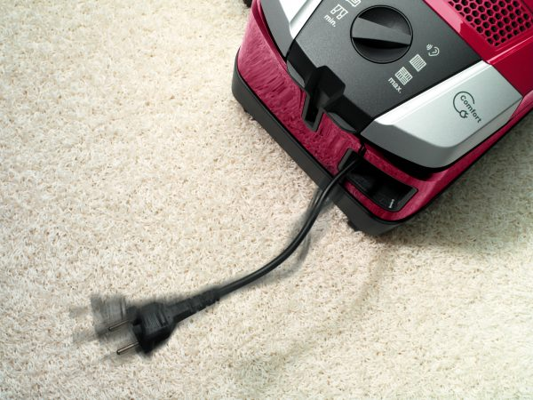 Cable rewind