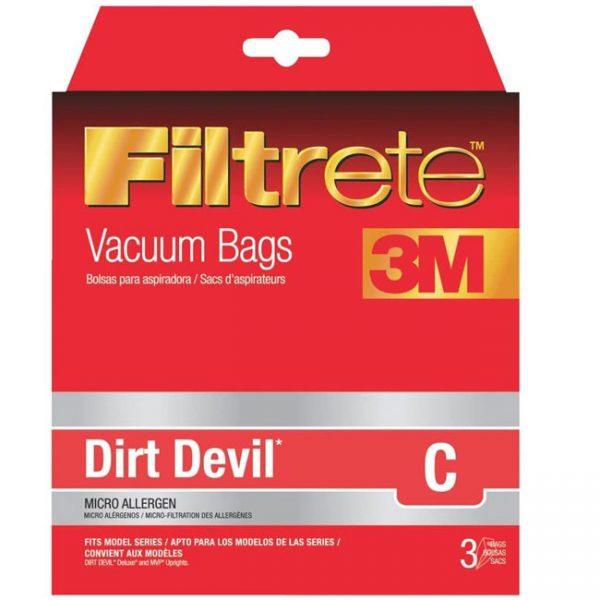 Dirt Devil C Micro Allergen Vacuum Bag-65700