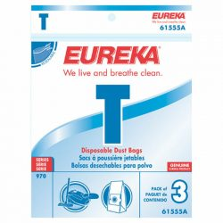 Eureka T Portable Vacuum Bags - 61555B