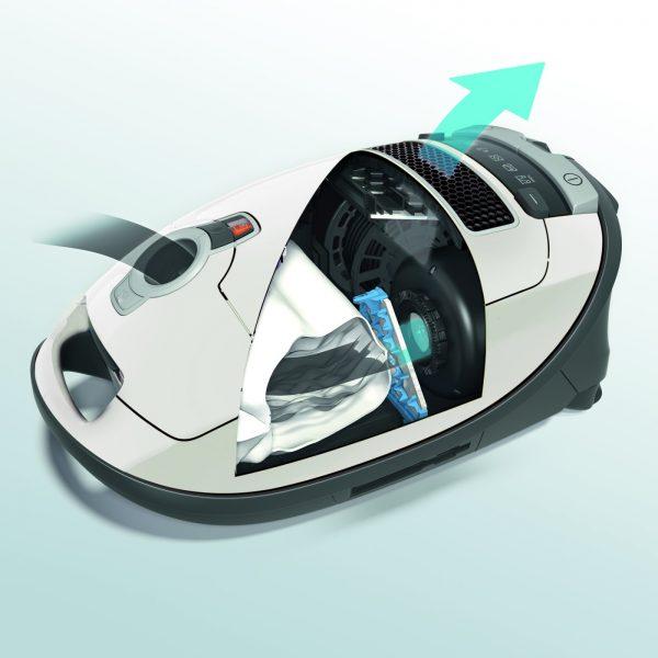 Miele Complete C3 Excellence Vacuum filtration