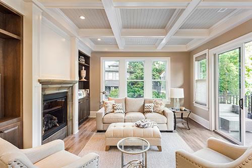 BEAM Lifestyle - - Livingroom with fireplace